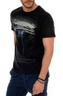 Camiseta John John Masculina Jelly Fish Preto