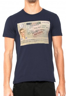 Camiseta Sergio K Masculina Not Allowed Justin Marinho