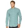 Camisa Ralph Lauren Masculina Custom Fit Icon Classic Checkered Quadriculada Verde