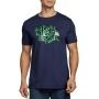 Camiseta Diesel Masculina T-Just Neon Azul Marinho