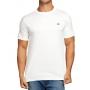 Camiseta Lacoste Live Masculina Croc Patch Writing Cotton Branco