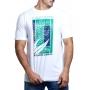 Camiseta Lacoste Masculina Roland Garros Branco