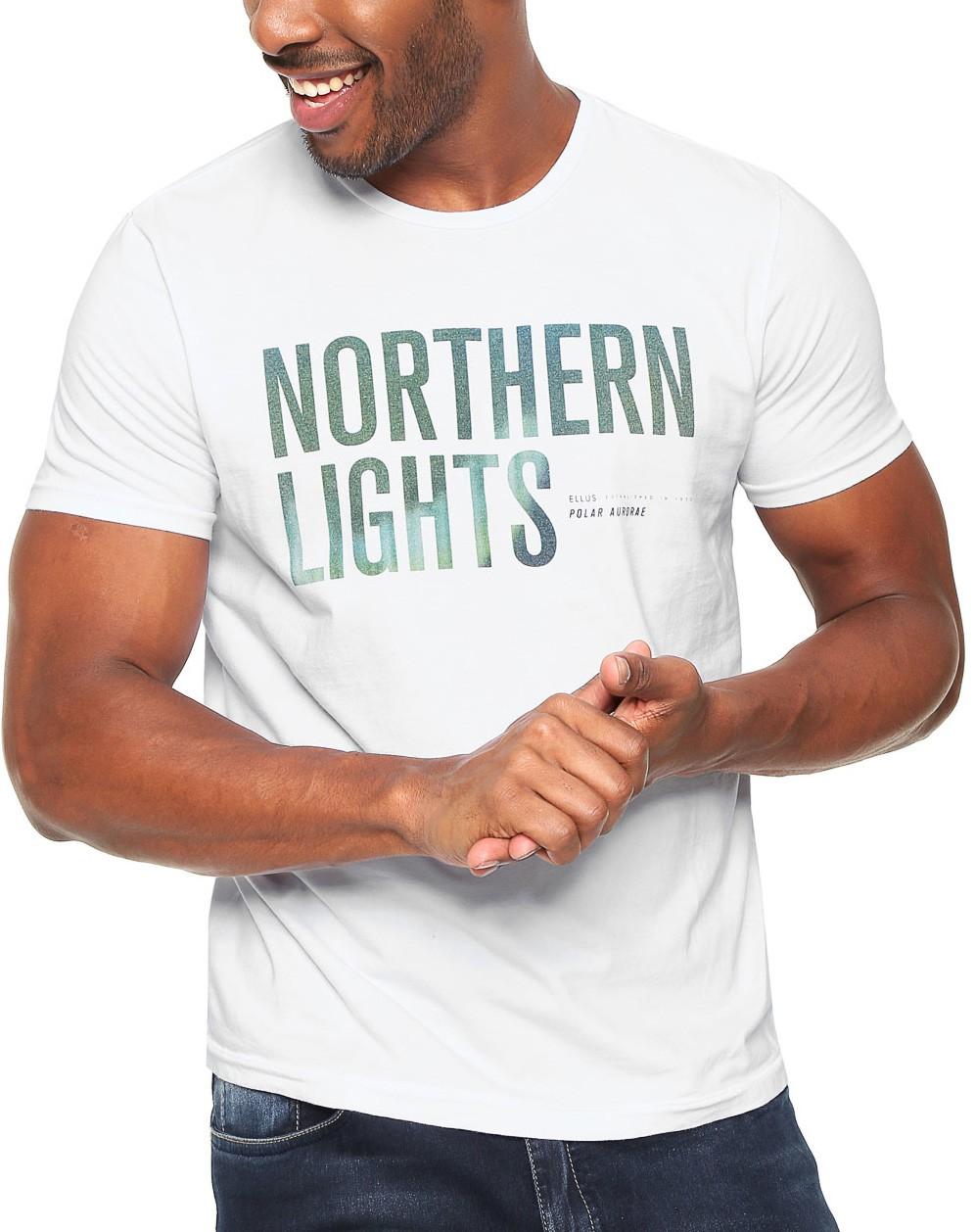 Camiseta Ellus Masculina Lights Classic Branco