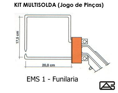 Solda à Ponto Ponteadeira Portátil - VEGA MS - Braço Funilaria
