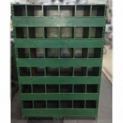 Armário de aço ferro multiuso com divisões – VG740 Usado