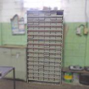 Armário em Aço Organizador de ferramentas Ferramenteiro com 102 Gavetas - RD44 Usado