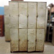 Armário Roupeiro De Ferro Com 8 Portas - Ba49 - Usado
