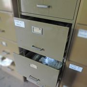 Arquivo de Aço com Quatro Gavetas - SP41 Usado