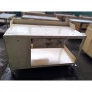 Bancada Armário Multiuso Industrial Reforçada de Aço – ML286