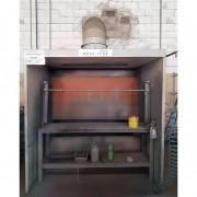 Cabine Pintura Brasibras com cortina de água - TR40 Usado