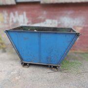 Caçamba de Aço para Materiais Diversos e Sucatas - SP62 Usado