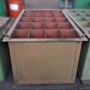 Caixa Container de aço reforçada Armazenadora - ML221 Usado