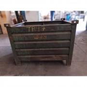 Caixa Contêiner Empilhável de Aço Para Peças TR47 – Usado