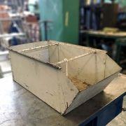 Caixa De Aço Industrial Para Guardar Peças - VT77 - Usada