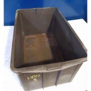 Caixa Plástica reforçada 80 cm empilhavel - HON8 Usado