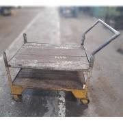 Carrinho de aço reforçado para Transporte Industrial - ML494 Usado
