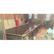 Máquina CNC de Corte a Plasma Automática 1500 x 6000 mm MA01 – Usado