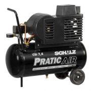 Compressor de Ar Baixa Pressão Pratic Air CSI 7.4/50 - Schulz