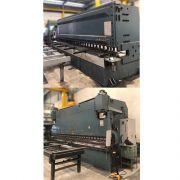 Dobradeira e Guilhotina CNC Durma 6m X 13mm 1/2 - VG541 Usado
