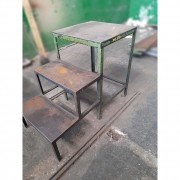 Escada de Ferro Industrial Multiuso Reforçada – ML393