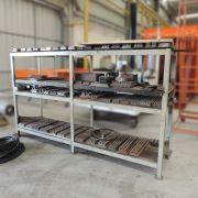 Estante Prateleira Reforçada em Aço Multiuso STB23 – Usada