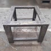 Estrutura de Mesa em Ferro cantoneira reforçada - ML481 Usado