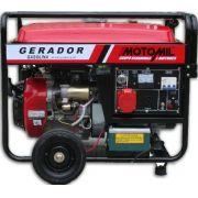 Gerador A Gasolina - Mgg-8000cle Monofásico - Motomil