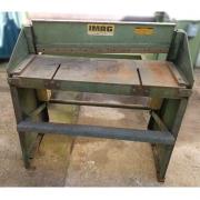 Guilhotina a pedal 1 m x 1.2 mm IMAG - JAB2 Usado