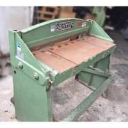 Guilhotina a pedal Newton 1 m X 1.0 mm aço carbono TP 1 - MX6 Usado