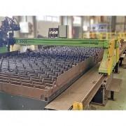 Máquina de Corte e Plasma CN 12.000 mm x 3.000 mm de mesa - VN71 Usado