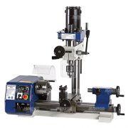 003 Máquina Multifuncional Hobby + Micro Torno + Micro Furadeira + Micro Fresadora MR 2001
