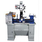 002 Máquina Multifuncional (TORNO + FURADEIRA + FRESADORA) MR 2007