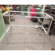 Mesa estrutura De Cantoneira de aço - RX51 Usado