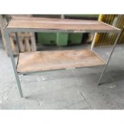 Mesa estrutura De Cantoneira de aço - RX57 Usado