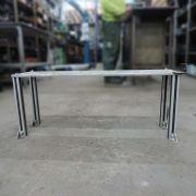 Mini Mesa Em Alumínio Multiuso Industrial CD204 - Usada