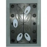 Molde de Injeção Plástico Plaqueta Oval 1 - 2 - VG1343 Usado