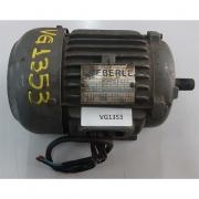 Motor de indução trifásico Eberle 1 cv 4 polos - VG1353 Usado
