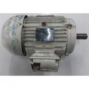 Motor de indução trifásico queimado WEG 4 CV 4 polos - VG1357 Usado
