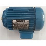 Motor de Indução Trifásico Voges 1/3 CV 4 pólos - VG1364 Seminovo