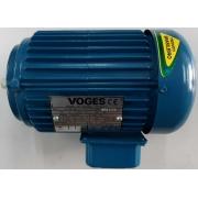 Motor de indução trifásico Voges 1/3 CV 4 pólos - VG1384 Seminovo