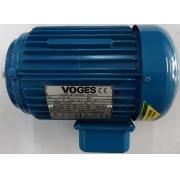 Motor de indução trifásico Voges 1/3 CV 4 pólos - VG1393 Seminovo