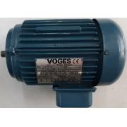 Motor de indução trifásico Voges 1/3 CV 4 Pólos - VG1428 Seminovo