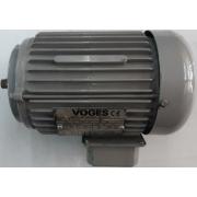 Motor de indução trifásico Voges 1/3 CV 4 pólos - VG1429 Seminovo