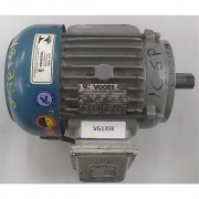 Motor de Indução Trifásico Voges 1 CV 8 Pólos - VG1358 Usado