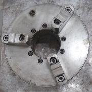 Placa 3 castanhas sobrepostas reversíveis para Torno Mecânico - VG589 Usado