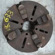 Placa De Torno Mecânico Independente 4 castanhas reversíveis - VG707 Usado