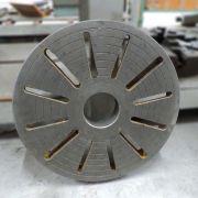 Placa Lisa Para Torno Mecânico 480mm CD777 – Usado