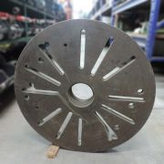 Placa Lisa Para Torno Mecânico 700mm CD779 – Usado