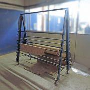 Porta Bobinas Suporte de Material com Rodízios - SP110 Usado