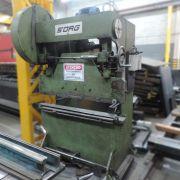 """Prensa Dobradeira Sorg 1/8"""" (3.2 mm  )x 1200 mm AG25 – Usado"""